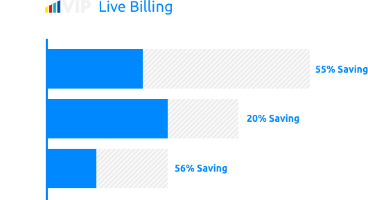 Customer Savings Graphic